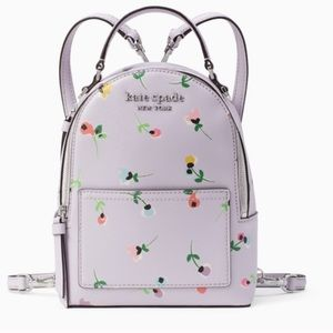 COPY - Cameron Wildflower Ditsy Mini Convertible Backpack